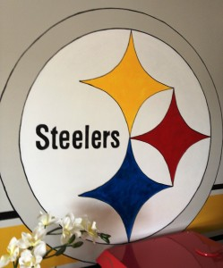 DIY Wall Decal… Go Steelers!
