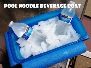 Pool Noodle Beverage Boat