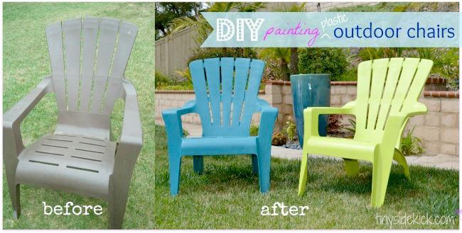 DIY-Spray-Painted-Plastic-Adirondack-Chairs