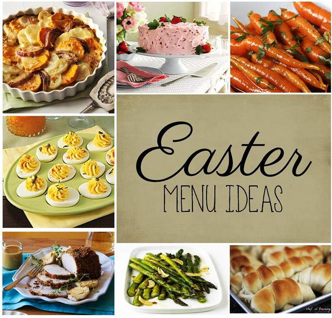 Easter Menu Idea