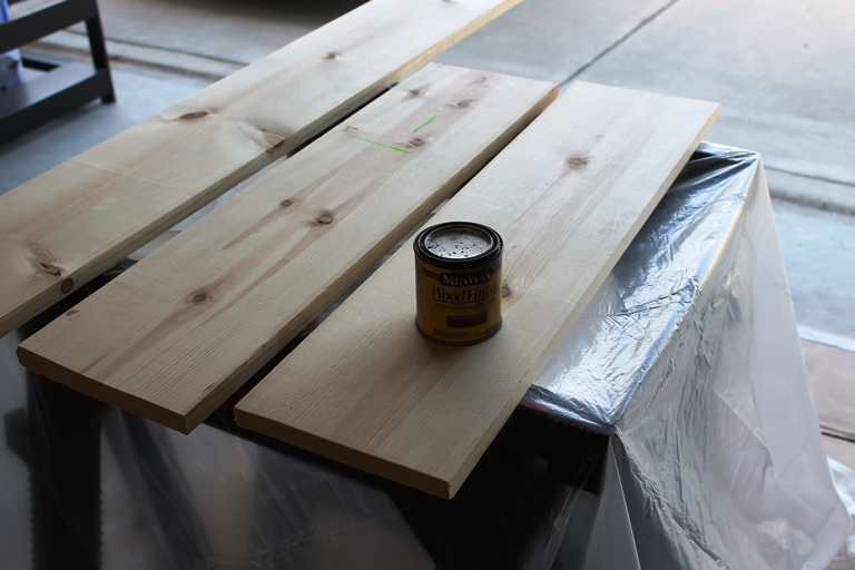 Easy DIY Sofa Table Brass and Whatnots