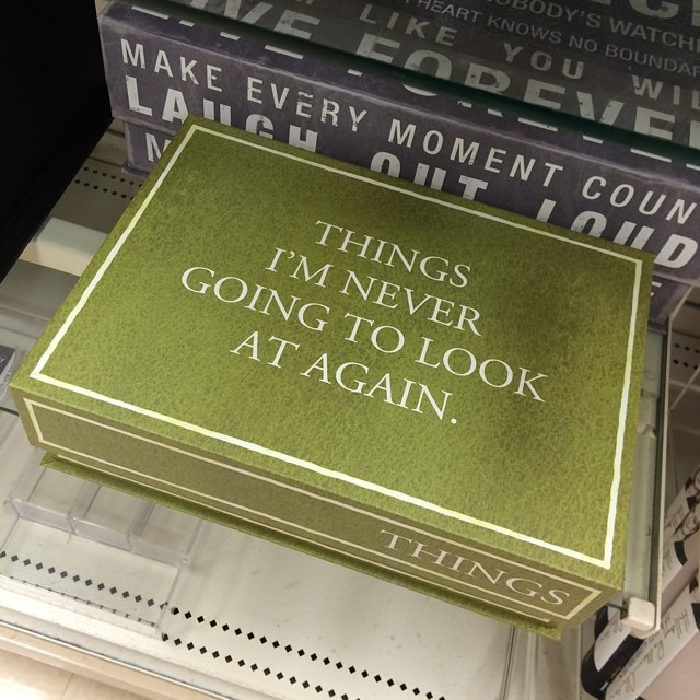 Ain't that the truth!!! #organizedjunk #homegoods