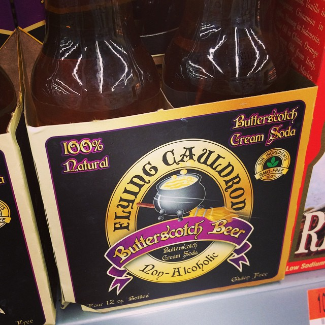 Well played Wal-Mart... Now I'm craving something I didn't even know existed this morning. #harrypotterwouldbeproud #yum