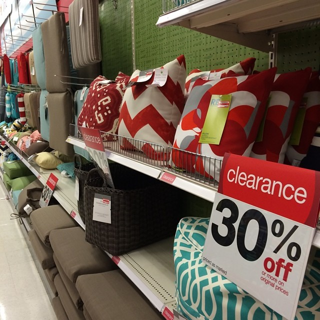 Uh oh... Hold on to your wallets. It's #target clearance time!!!#andnowimbroke