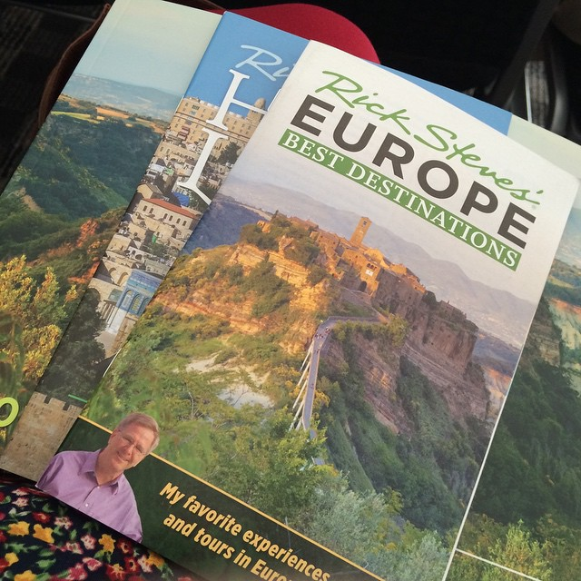 Watching a travel lecture by Rick Steves -- my #travel spirit animal. #traveltips #europe