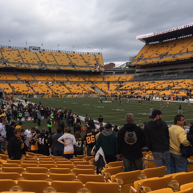 Ready for game day!! #steelers