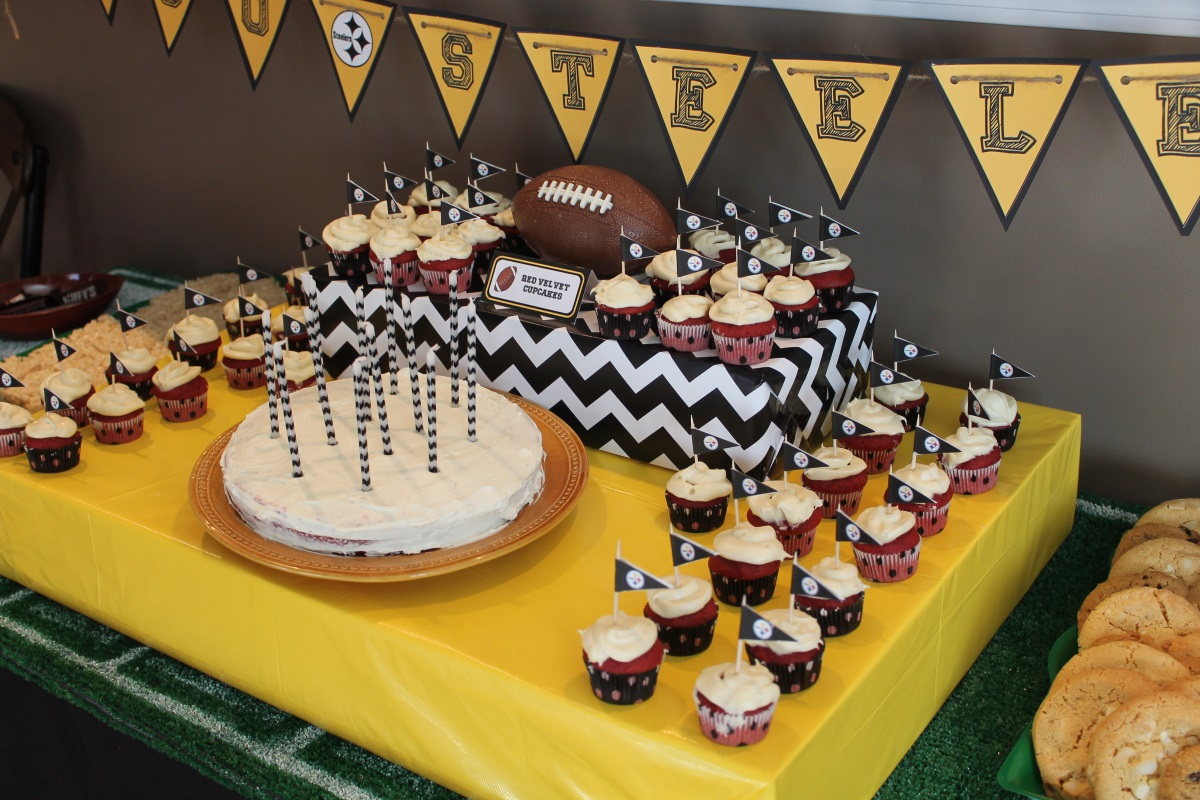 Pittsburgh Steelers 40th Birthday Party for Him Brass and Whatnots
