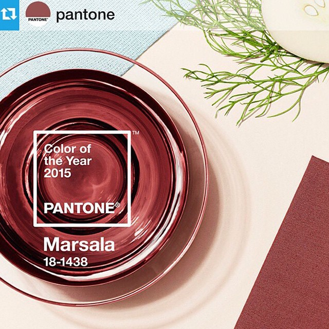 Love it!!! Finally a @pantone color of the year I can get behind.