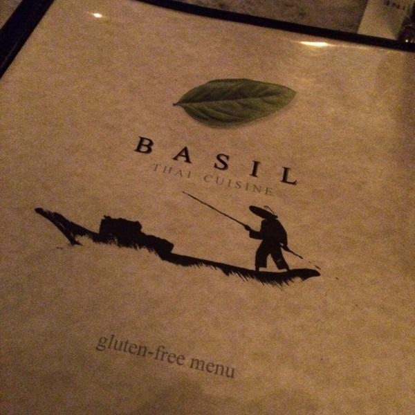 basil thai gluten free menu