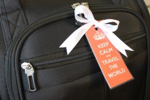 DIY Spring Travel Printable Luggage Tags