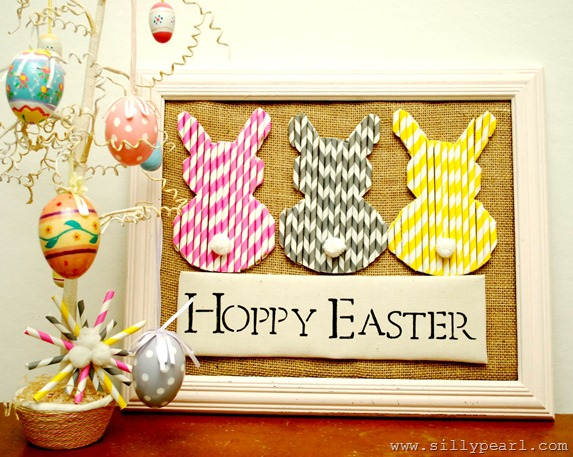 Paper Straw Easter Bunnies-The Silly Pearl_thumb[3]