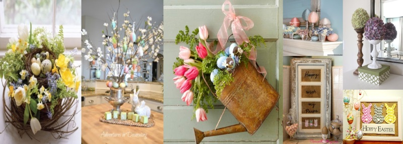 12 Easter Decor Ideas Round Up