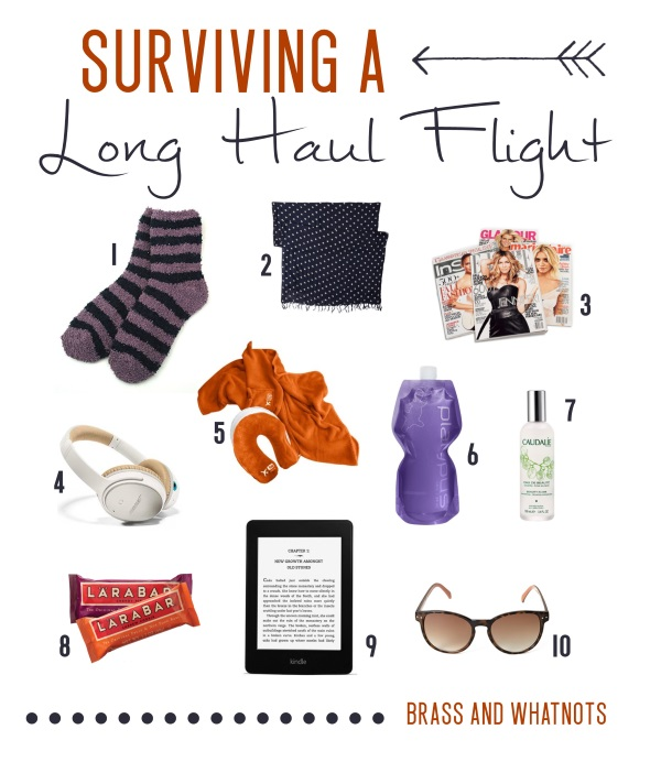 surviving a long haul flight
