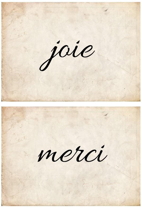 French Script Art