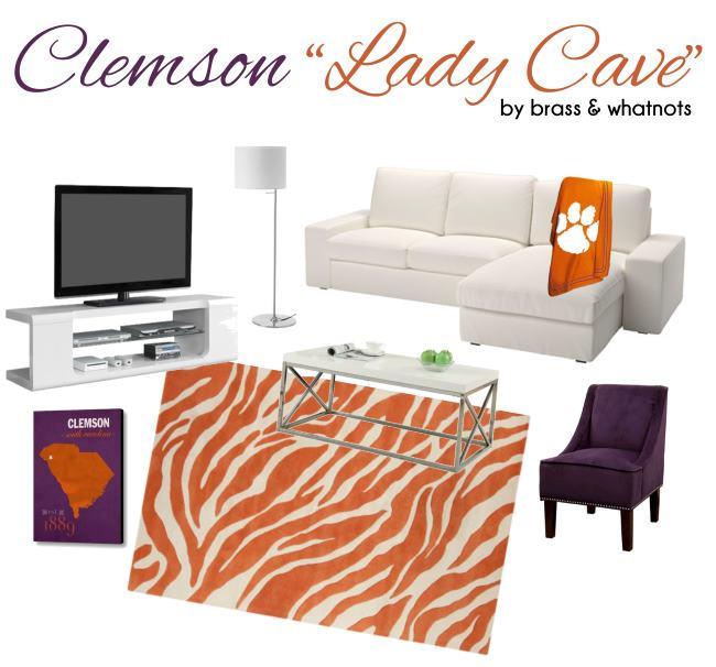clemson lady cave