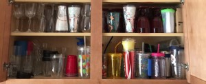Decluttering the House 2016: Kitchen Cups