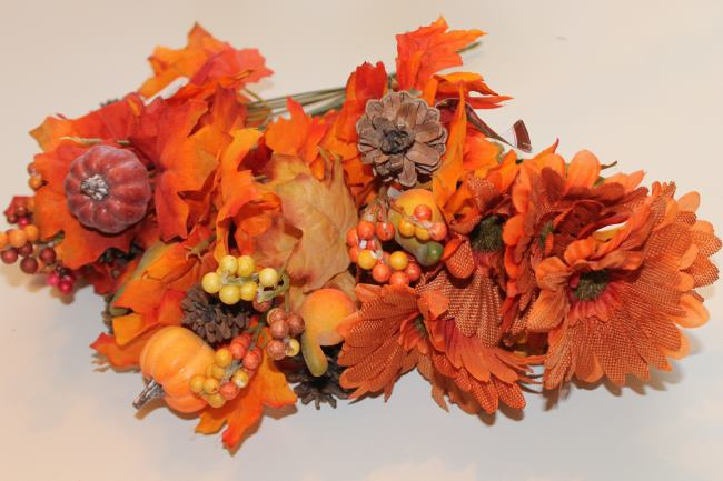 dollar tree fall wreath floral