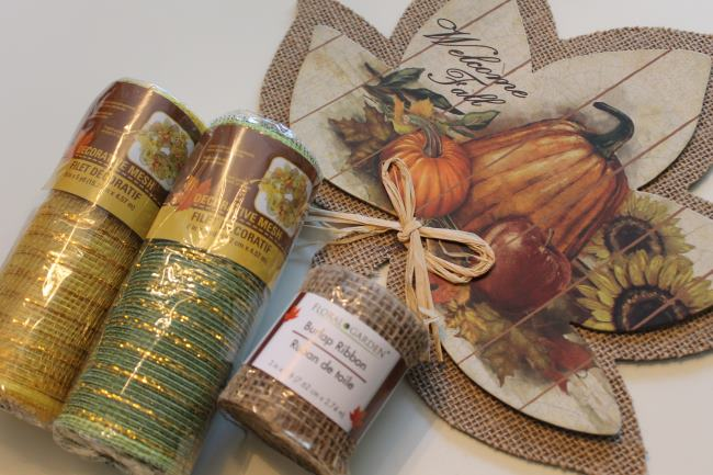 dollar tree fall wreath supplies